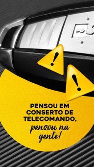O melhor serviço para conserto e reparo de telecomando é aqui! Venha nos visitar ou agende seu horário! #chave #chaveiro #serviços #reparo #AhazouServiços #manautençao #telecomando