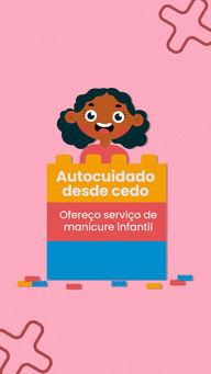 O autocuidado é muito importante desde cedo, por isso decidi implementar o serviço de manicure infantil, vem marcar o horário para a sua pequena ❤ #AhazouBeauty #manicure #manicureinfantil #unhas #esmaltes #cores