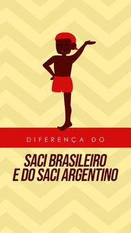 Os especialistas acreditam que a lenda do nosso Saci derivou do Saci da argentina, mas ela se modificou aqui no Brasil por conta da influência da cultura africana e europeia. O Nosso Saci é negro, enquanto o yase-yateré (como é chamado o Saci Argentino) é loiro, nosso Saci só tem uma perna e o Yase já tem as duas. O Yase gosta de atrair moças solteiras e engravidá-las, enquanto o Saci do Brasil gosta de fazer travessuras com as crianças. #AhazouEdu #aulaemgrupo #aulaparticular