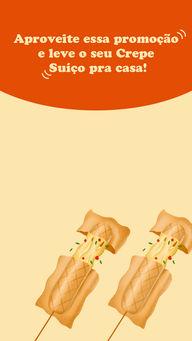 Temos diversas opções para você, uma mais deliciosa do que a outra, venha conferir! 😋 #crepe #crepesuiço #ahazoutaste #eat  #foodlovers  #ilovefood  #instafood