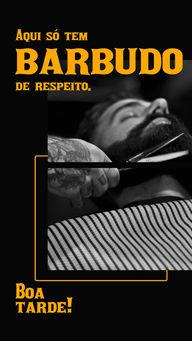 Hoje o boa tarde vai só para os barbudos de respeito! 😎 #barba #barbeiro #AhazouBeauty  #barbearia  #barberShop  #barber