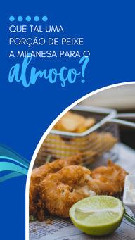 Venha experimentar nossa porção de peixe a milanesa. Uma ótima pedida para o seu almoço. #ahazoutaste #restaurante #alacarte #foodlovers #selfservice #eat #ilovefood #instafood