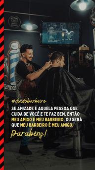 E ainda dizem que o melhor amigo do homem é o cachorro, acho que dá pra ter dois melhores amigos né?!?  #AhazouBeauty #diadobarbeiro #barbeiro #motivacional #frase  #barbershop  #barbeirosbrasil  #barbearia  #barba  #barber