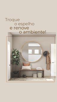 O espelho dá todo um visual no ambiente, que tal renovar sua casa com nossos espelhos decorados! #AhazouVidraçaria #vidrotemperado  #vidracaria  #vidraçaria