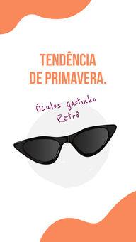 Este modelo chegou conquistando os corações dos estilosos! E vai ser um sucesso nesta Primavera. #AhazouÓticas #gatinhoretro #oculos #tendencia  #otica  #oticas  #oculosdesol
