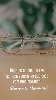É preciso está com a visão limpa para conseguir enxergar as coisas boas, experimente! #AhazouÓticas #lentesdecontato #oculos #oculosdegrau #oculosdesol