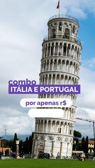 Já pensou em conhecer Itália e Portugal com um preço que cabe no seu bolso? Então confira nossa oferta! #Europa #AhazouTravel #Viagem