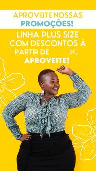 Você não vai querer ficar de fora dessa promoção. Aproveite hoje mesmo e garanta já o seu desconto! 🛒 #AhazouFashion #fashion #fashionista #moda #modafeminina #modaplussize #promocao