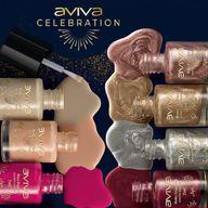 """Para brindar com estilo, Aviva Celebration trouxe 7 cores de Esmaltes Metalizados, nas opções """"Cremoso"""" e """"Perolado"""", que irão estampar glamour e sucesso no look das mãos!  #AvivaCelebration #ahazoujequiti #ahazourevenda"""