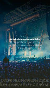 Esse recorde é nosso! O show foi do cantor Rod Stewart e aconteceu em 1993, no Rio de Janeiro, reunindo 4,2 milhões de pessoas. Impressionante, né? #AhazouEdu #aprendamúsica  #professordemusica  #aulaparticular  #instrumentos  #aulademusica  #música