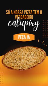 Experimente nossa pizza. A única com o verdadeiro catupiry. Faça o seu pedido agora mesmo!#ahazoutaste #pizza  #pizzalife  #pizzalovers  #pizzaria